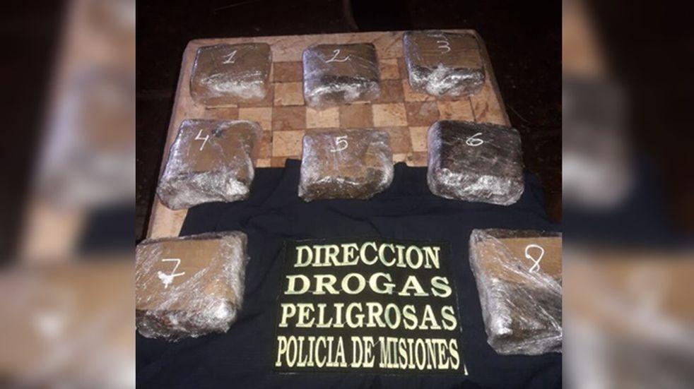 Posadas: secuestraron una mochila con droga