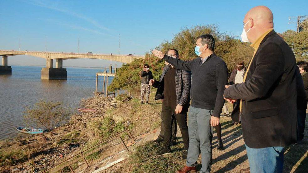 El Gobierno del Chaco confirmó el inicio de obras para defensas costeras en el río Paraná