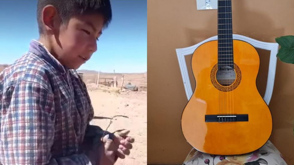 El pequeño cantante de los cerros: Gastón tendrá su deseada guitarra
