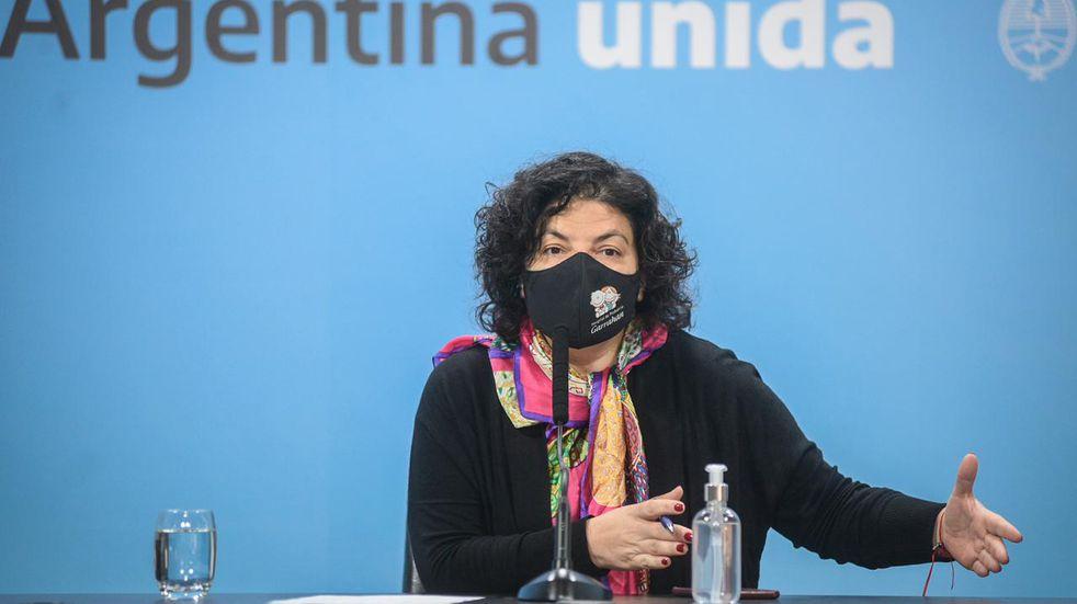 """Vizzotti le habló a los gobernadores: """"Con una normativa nacional solamente no alcanza"""""""