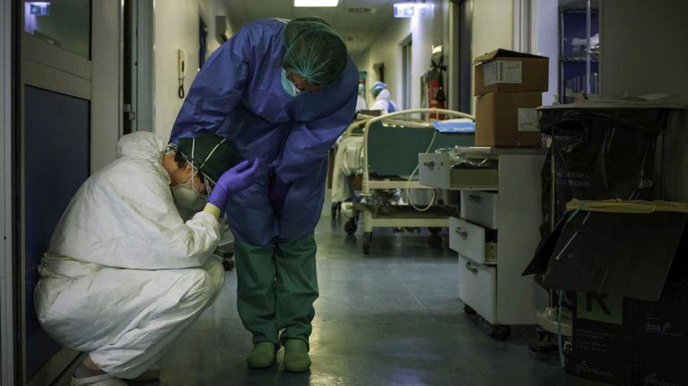 Covid-19 en La Rioja: Fallecieron dos pacientes en la mañana del viernes