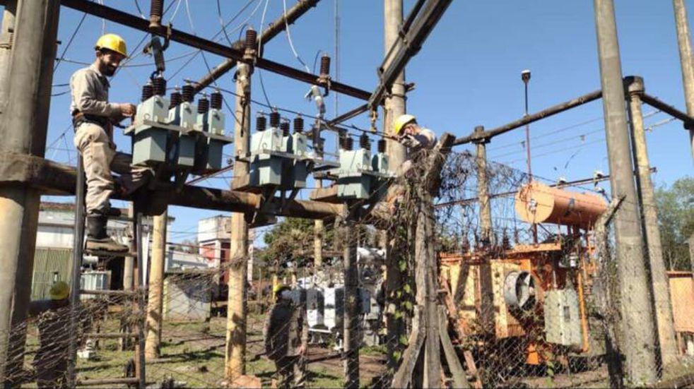Ejecución de obras de mejoramiento en Cerro Corá y Profundidad
