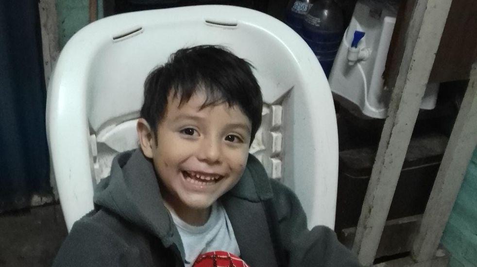 Sorteo solidario por un pequeño sanjuanino de 4 años que no puede caminar
