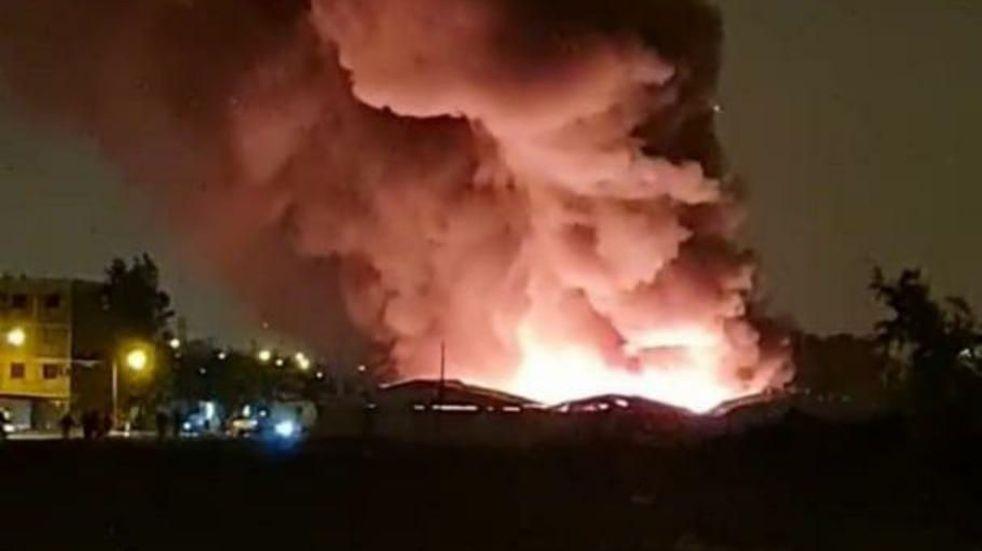 Los responsables del incendio en la feria de Bancario fueron identificados