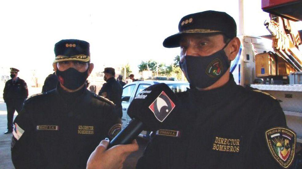 Entregaron insumos a Bomberos Voluntarios de Itaembé Guazú