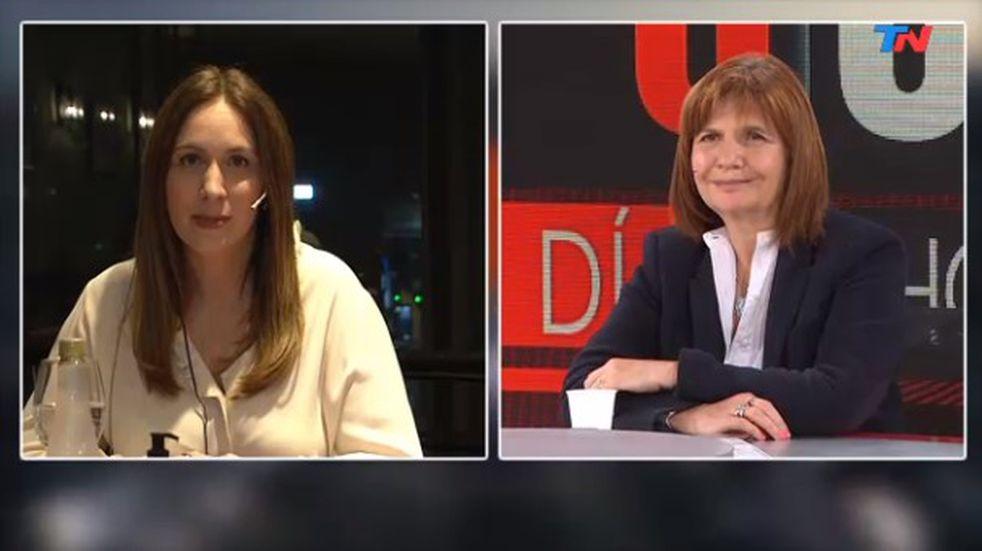 """Patricia Bullrich y María Eugenia Vidal, tras las internas: """"Entendimos que el camino era juntas"""""""