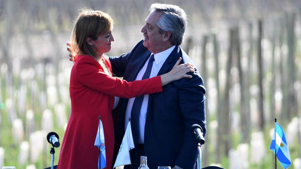Anabel Fernández Sagasti escoltará al presidente durante su estadía en Mendoza