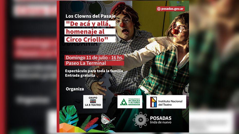La municipalidad de Posadas ofrece diferentes propuestas culturales para pasar las vacaciones en la ciudad