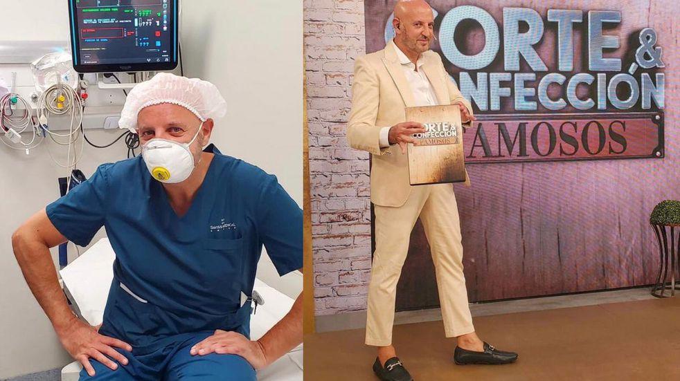 Fabian Zitta, el anestesiólogo y diseñador concordiense que triunfa como jurado de Corte y Confección