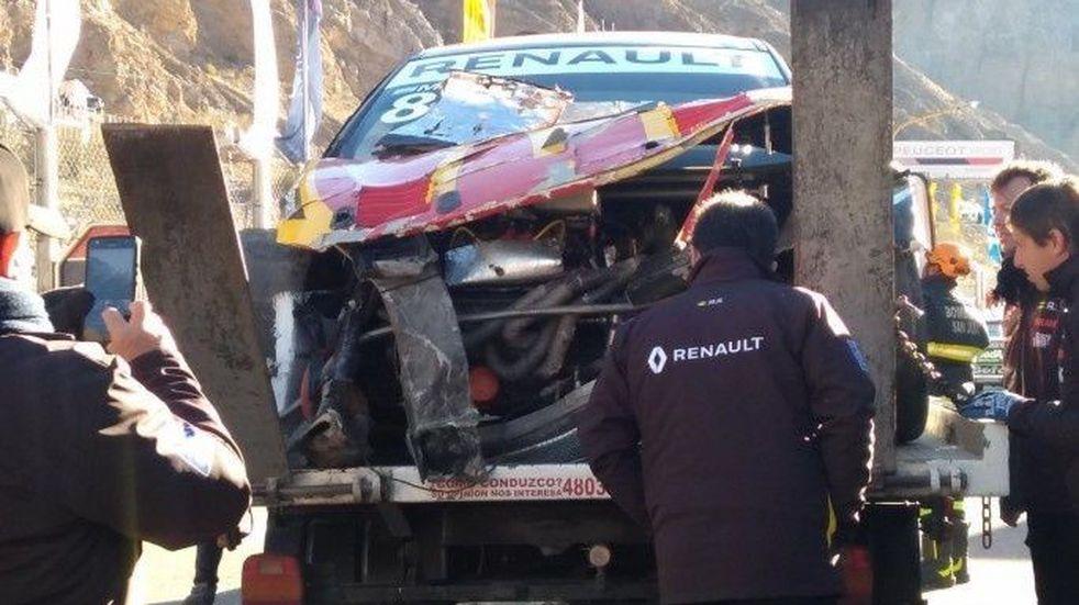 Terrible accidente en el entrenamiento del Súper TC 2000 en San Juan