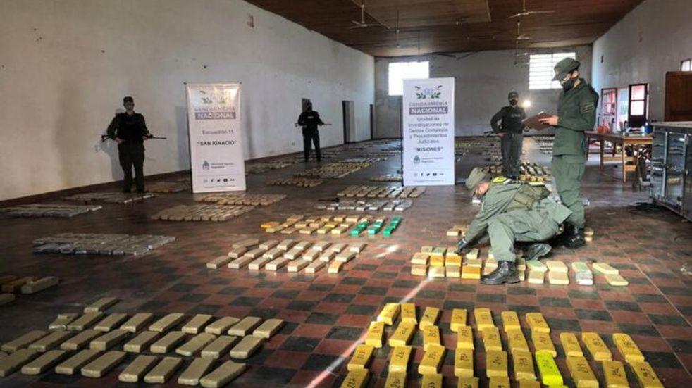 Lograron desbaratar cargamento de marihuana en General Urquiza