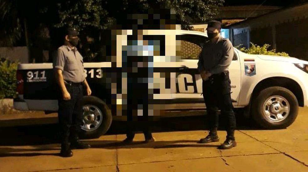 Capturaron a uno de los ladrones que golpeó a una mujer en febrero pasado