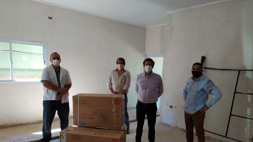 La Empresa de Transporte de Colectivos Eldorado realizó una donación al Hospital SAMIC