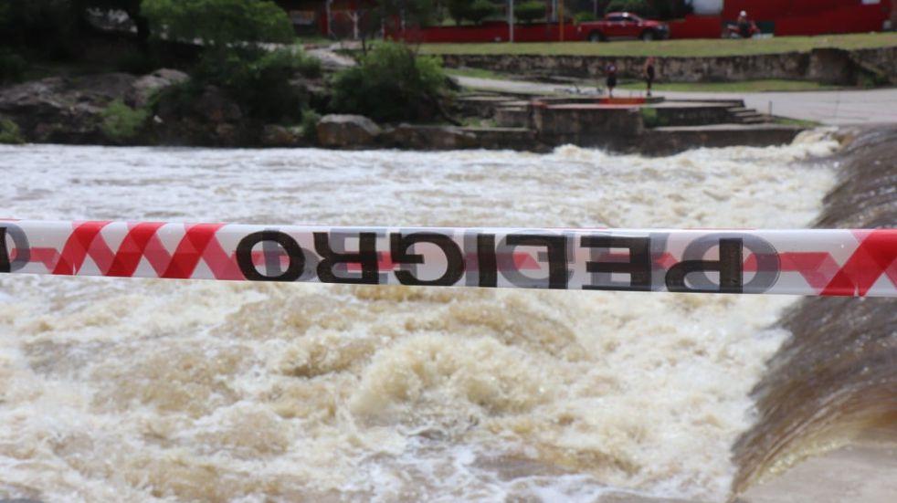 Una nueva creciente ingresó esta sábado al río San Antonio