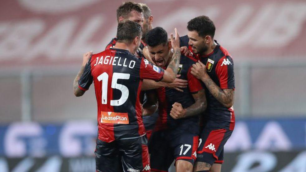 Gol del Cuti Romero, para salvarse del descenso en Italia