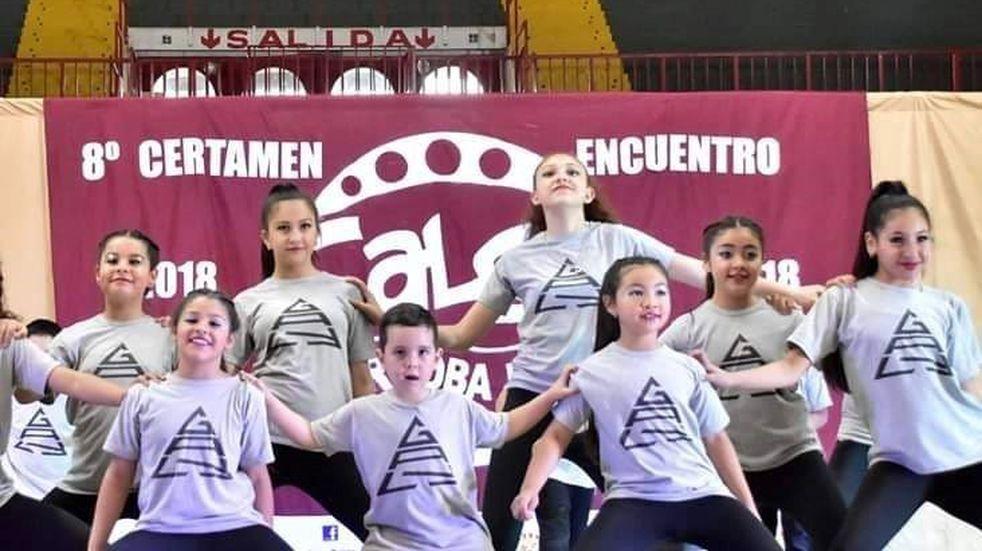 Presentación de Galy Dance, en el CPC de Villa El Libertador