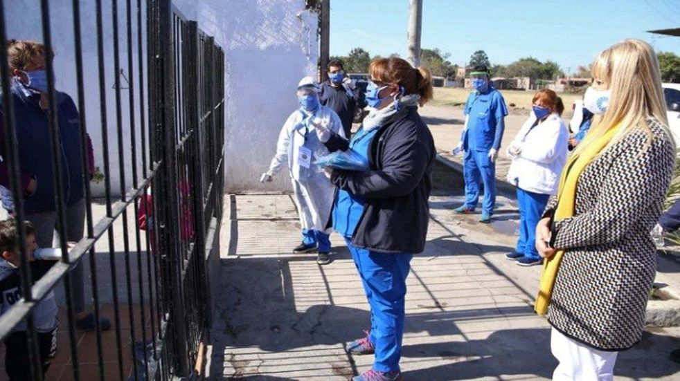 Coronavirus: más de 6.300 personas fueron controladas por el equipo de BAF