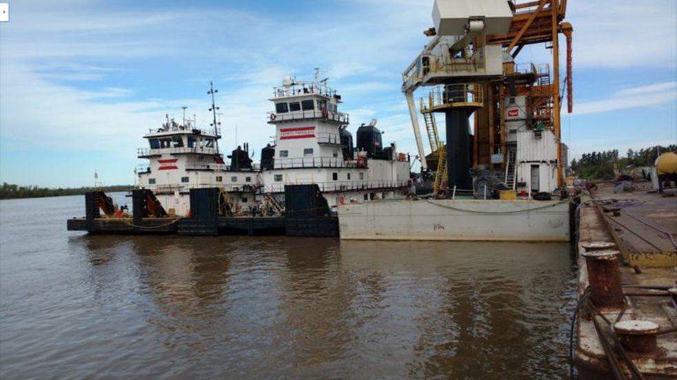 Murió un operario del astillero UABL de Pueblo Esther