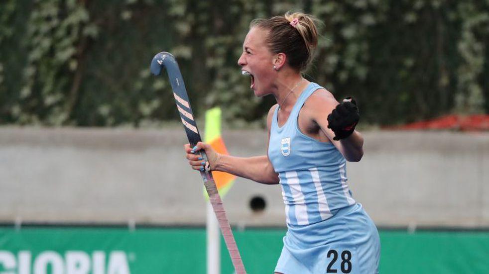 "Hockey: la cordobesa Jankunas, candidata a ""estrella en ascenso"" del mundo"