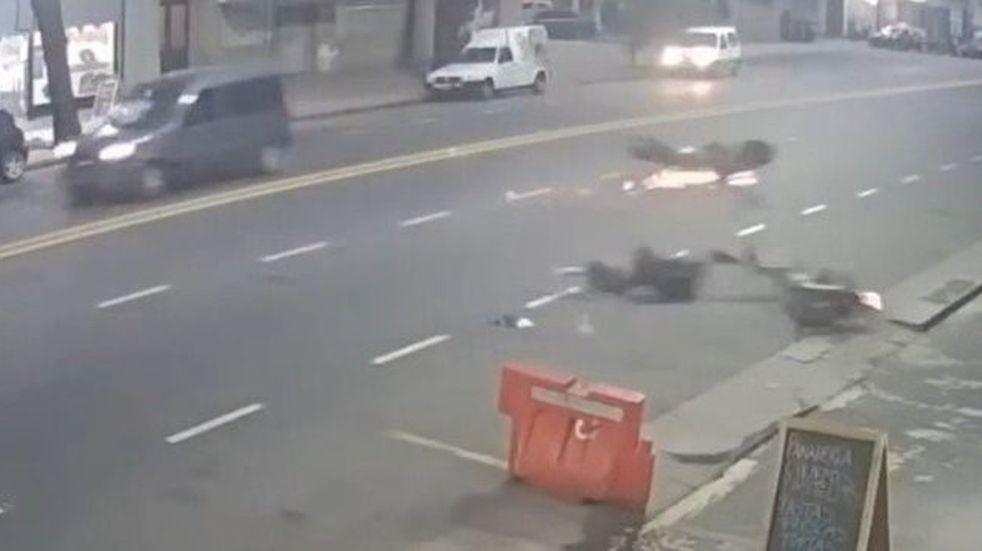 El impresionante video del accidente del expiloto de Fórmula 1 Esteban Tuero