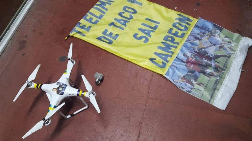 Afirman que identificaron a quienes usaron un dron en el clásico rosarino