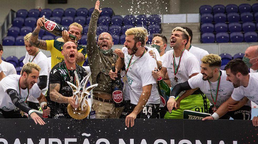Hockey sobre patines: Romero y Platero se consagraron campeones con Sporting Lisboa