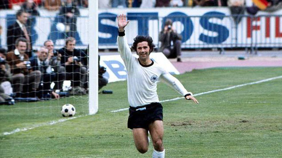 Murió Gerd Müller, leyenda del fútbol alemán
