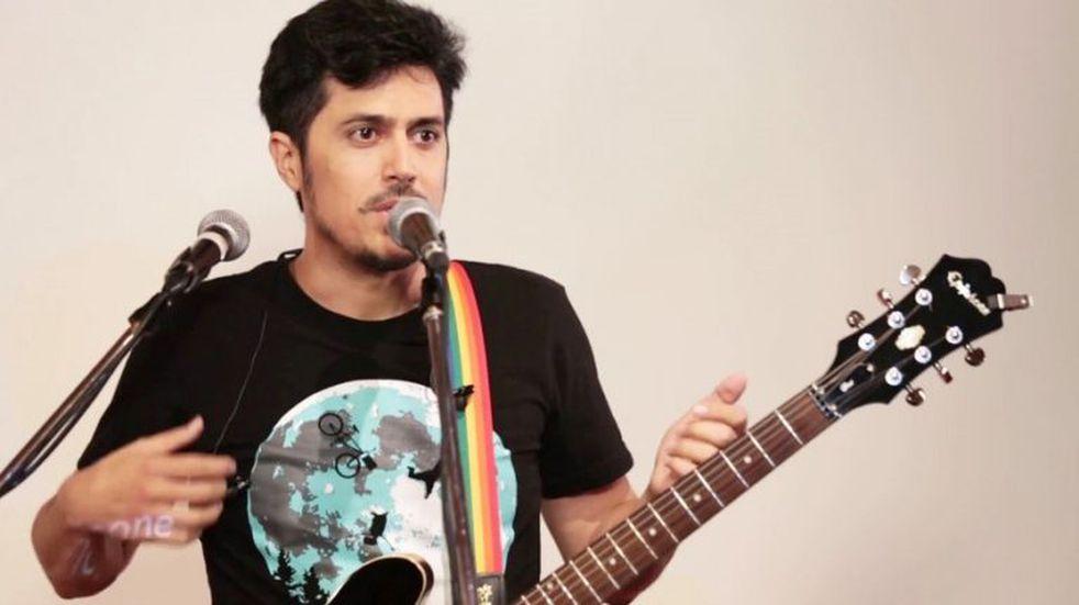 El músico Nicolás Rainone vuelve a La Pampa con su nuevo disco Ríos de Neón