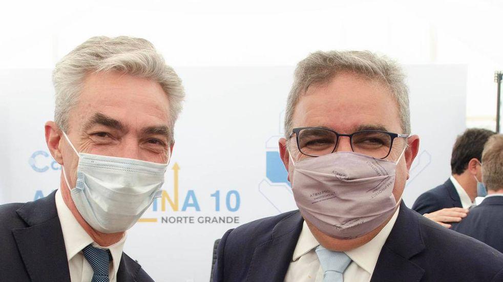 El gobernador Raúl Jalil recordó a Mario Meoni