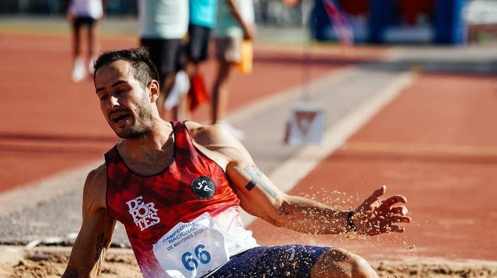 El campeón nacional de atletismo es salteño y piensa en Tokio