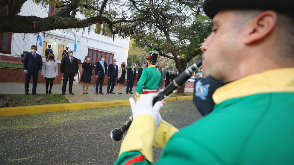 Actos por el 9 de julio en Corrientes: Valdés admitió retraso en segundas dosis de vacunas anticovid