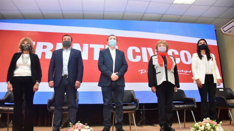 El Frente Cívico por Santiago obtuvo un amplio triunfo en las primarias