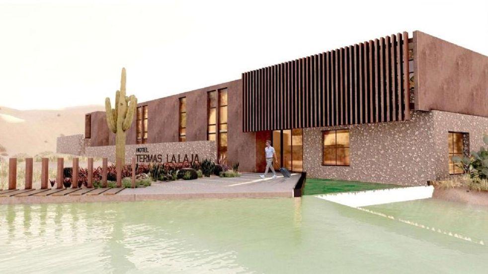 Construirán un hotel de lujo de aguas termales en Albardón