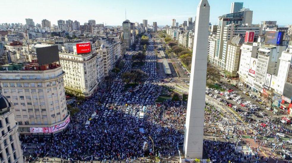 Qué dijeron los políticos entrerrianos sobre la marcha en contra del gobierno