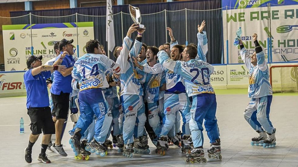 Argentina se consagró campeona de la World Skate Cup