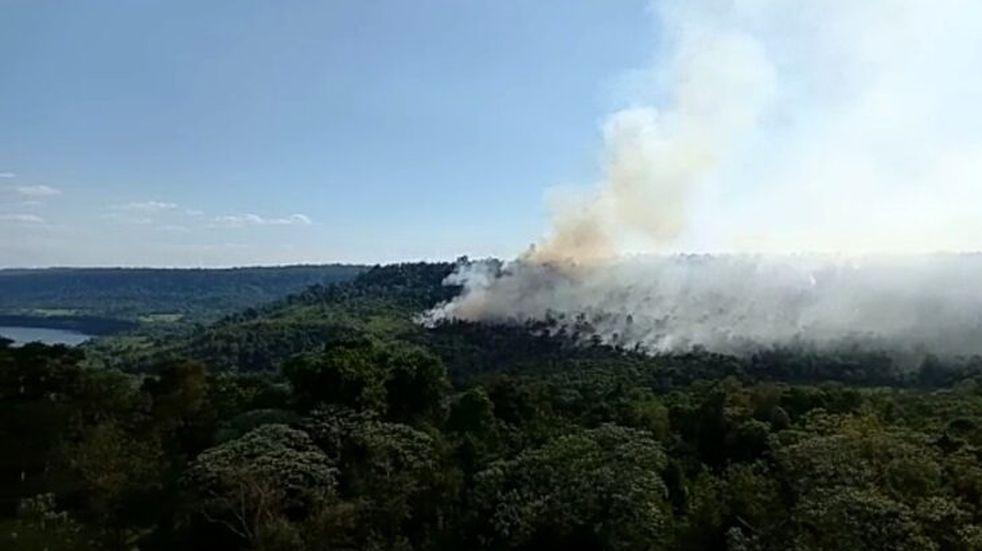 Por las altas temperaturas y la falta de lluvias rige en Misiones el alerta por incendios