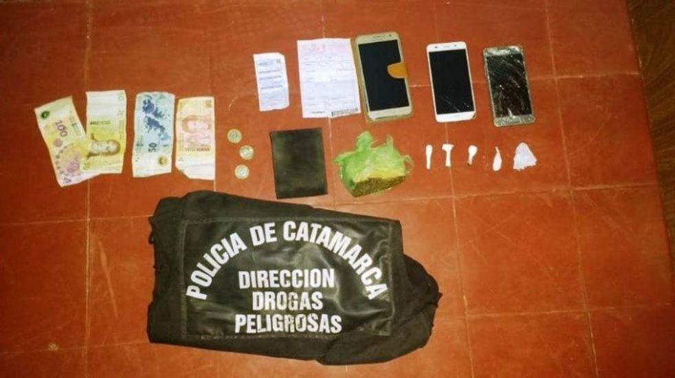 En un amplio operativo, secuestraron droga en Belén
