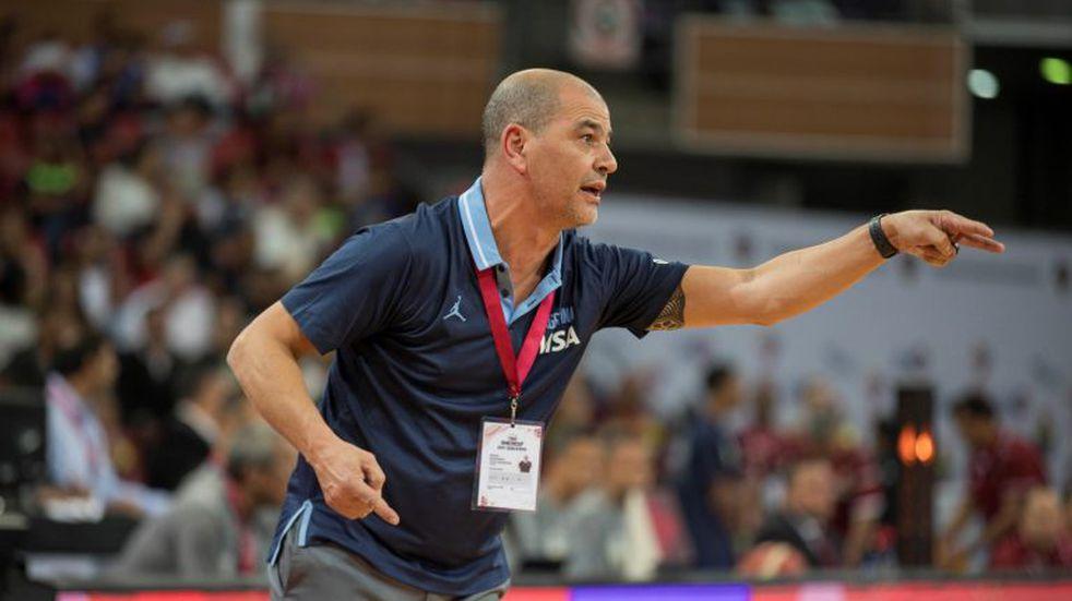 Sergio Hernández seguirá al frente de la Selección de básquet para los Juegos Olímpicos de Tokio