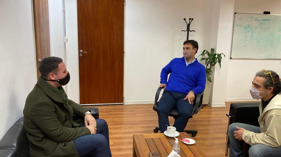 El rector de la UNCAus mantuvo una reunión con el presidente del INAES