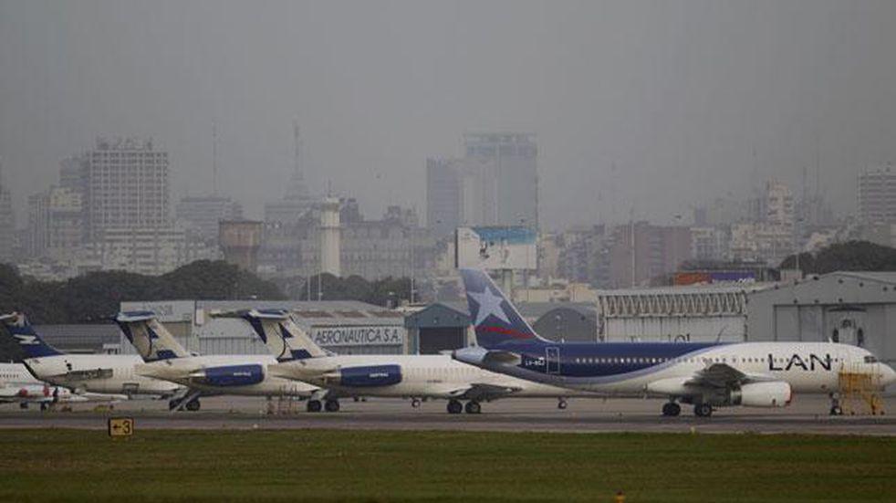 Adiós a LATAM Argentina: su último avión dejó el país y ya está en Chile