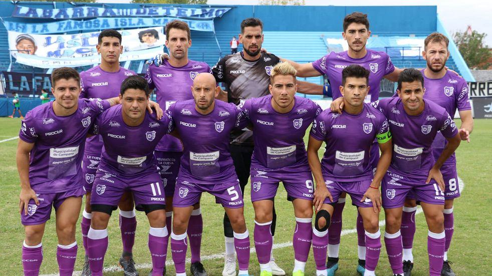 Fernando Bersano jugó su segundo partido para Villa Dálmine