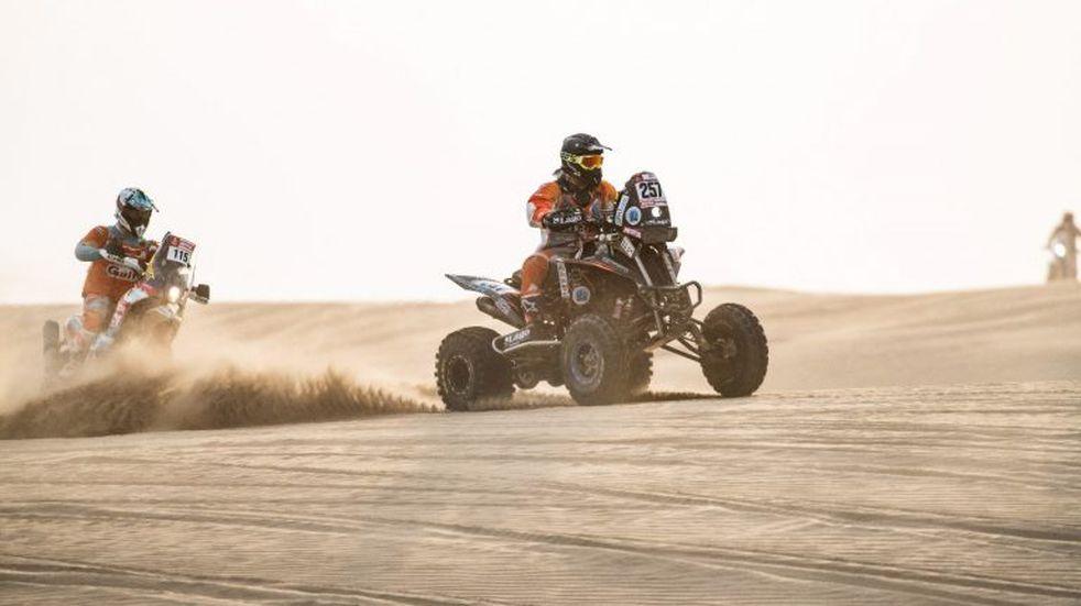A un paso del objetivo y podio para Gustavo Gallego en el Dakar