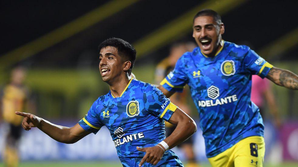 Rosario Central igualó 2 a 2 ante Deportivo Táchira por la Sudamericana