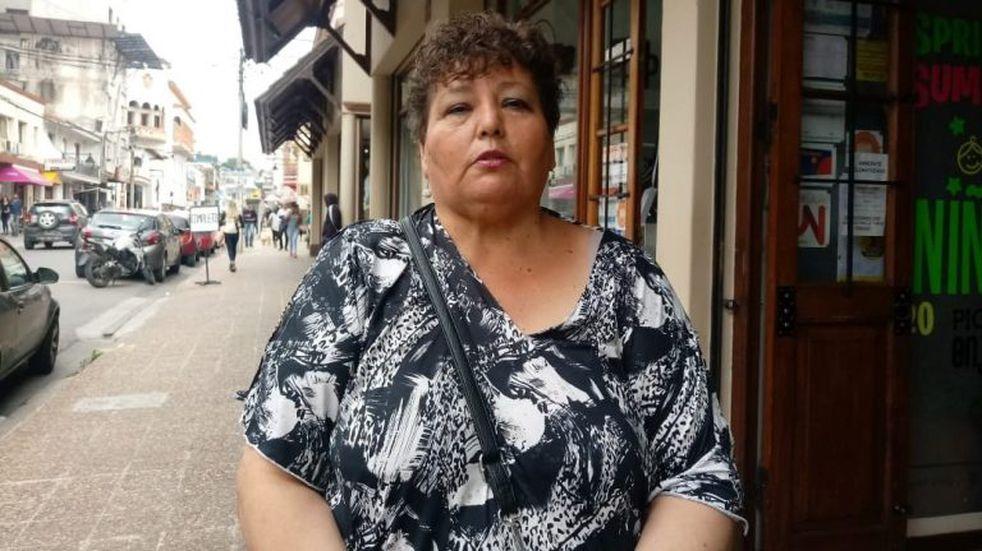 Susana Ustarez, secretaria general de APOC Seccional Jujuy