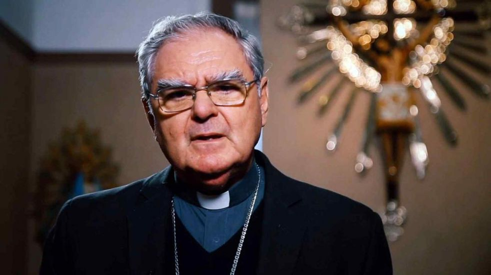 Monseñor Oscar Ojea, y una dura crítica al Gobierno. (Foto: Infobae)