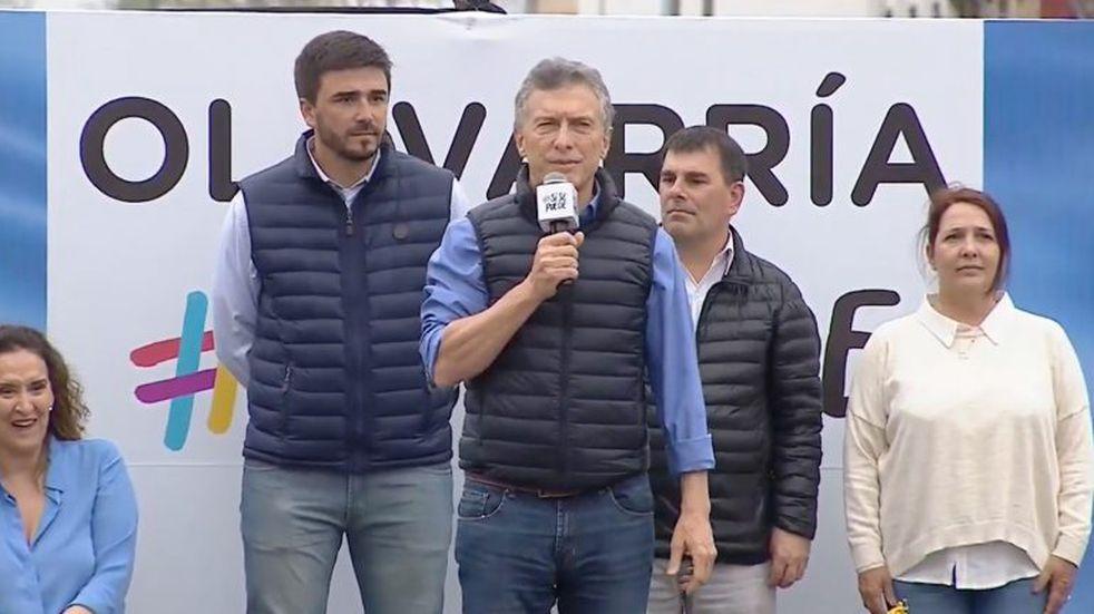 """El chiste de Macri en Olavarría: """"Hay gato para rato"""""""
