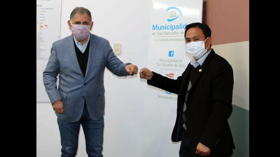 El Cónsul de Bolivia en Jujuy se reunió con el intendente Raúl Jorge