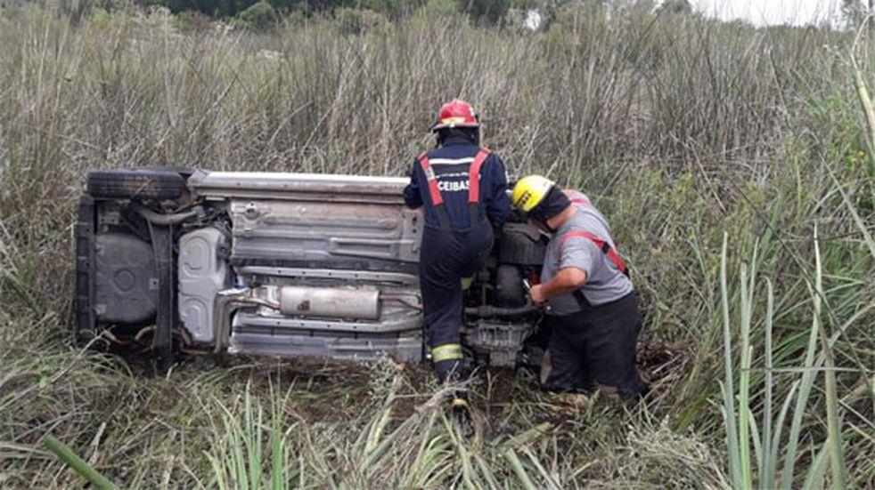 Dos nuevos accidentes en Rutas Nacionales 12 y 14