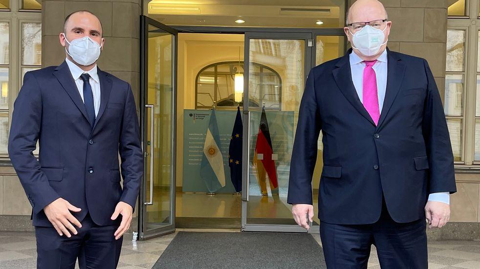 El ministro Guzmán se reunió con su par alemán para tratar posiciones frente a la pandemia