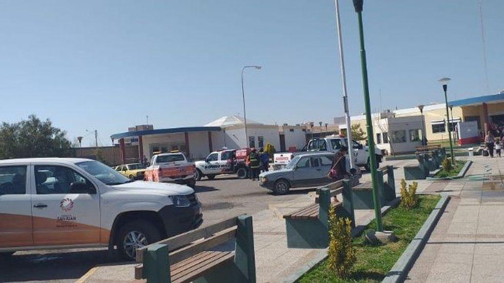 Evacuaron un hospital sanjuanino por una falsa amenaza de bomba